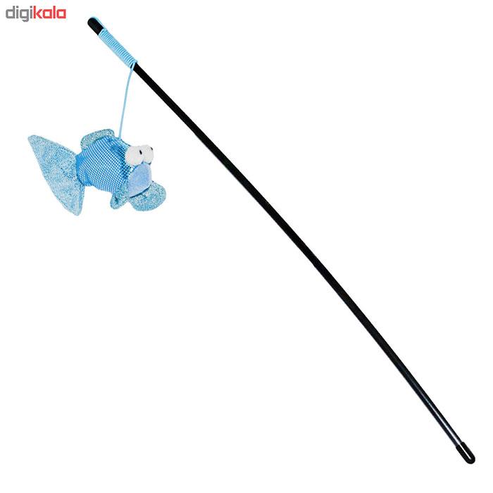 خرید اسباب بازی قلاب ماهیگیری برای گربه دیجی کالا